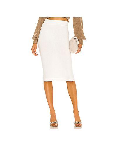 Белая юбка из вискозы Enza Costa