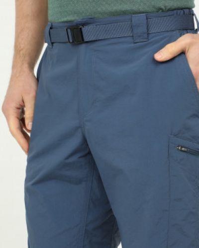Синие кожаные шорты Columbia
