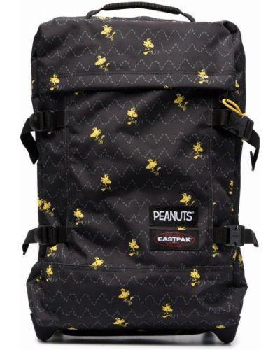 Черная сумка с принтом Eastpak