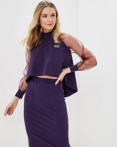 Юбочный костюм фиолетовый Barmariska