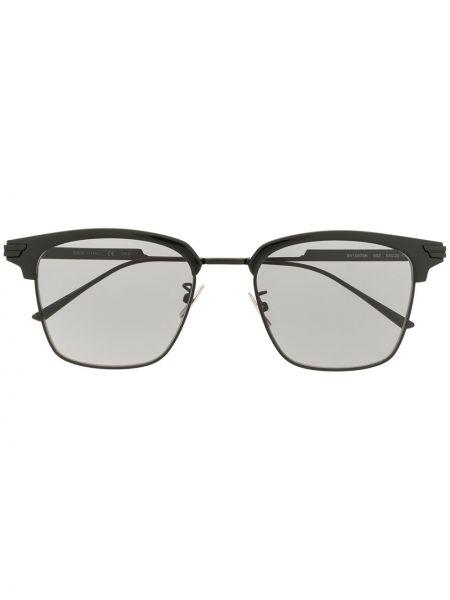 Okulary przeciwsłoneczne czarny plac Bottega Veneta Eyewear