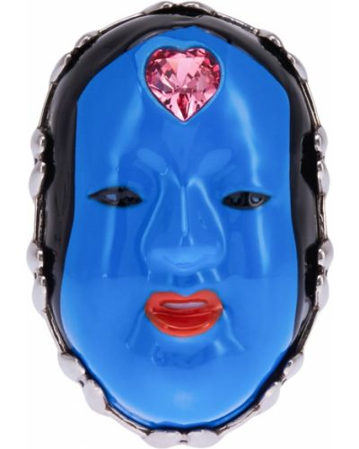 Синее кольцо Gucci