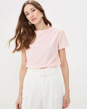 Блузка с коротким рукавом розовый весенний Froggi