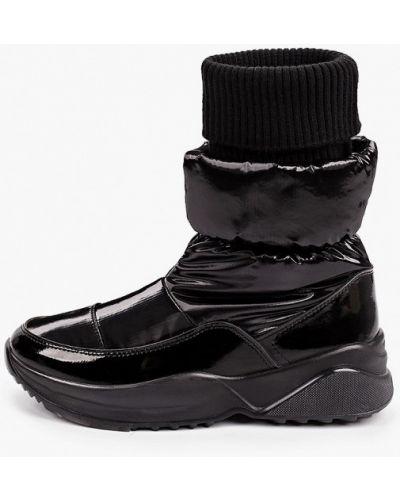 Черные текстильные дутики Jog Dog