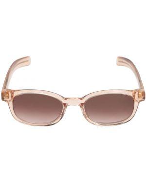 Różowe okulary srebrne Flatlist Eyewear