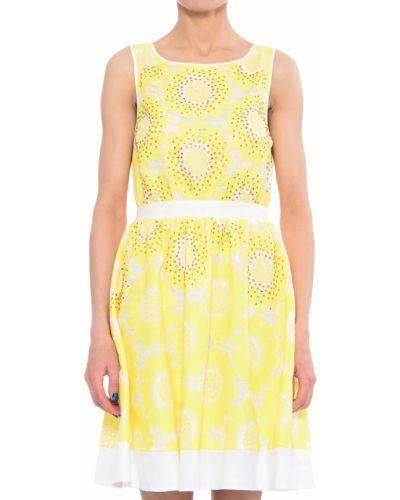 Платье из полиэстера - розовое Twin-set