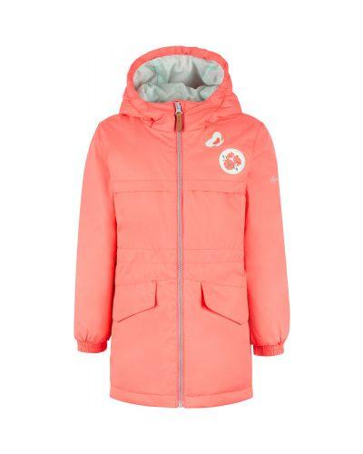 Утепленная розовая куртка на молнии Outventure