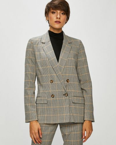 Классический пиджак прямой бежевый Vero Moda