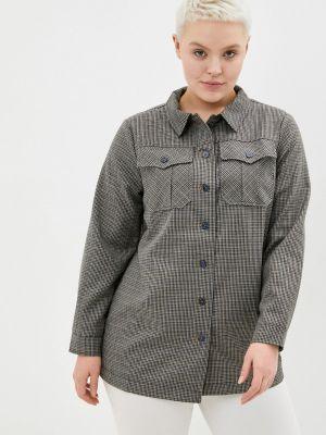 Рубашка с длинным рукавом - серая Bulmer