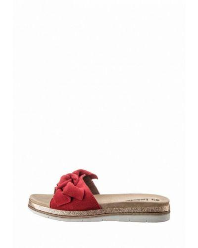 Красные кожаные сабо Inblu