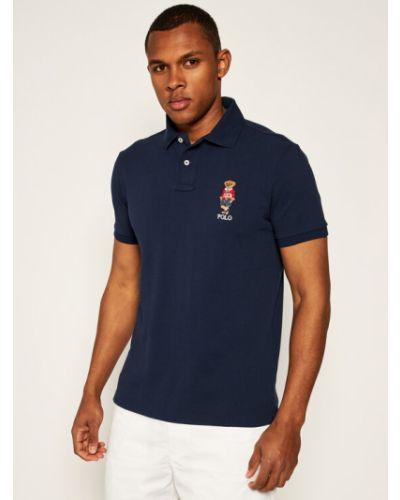 Koszulka - granatowa Polo Ralph Lauren
