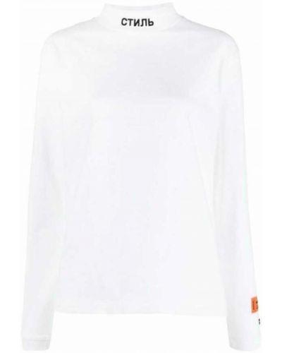 Biały sweter Heron Preston