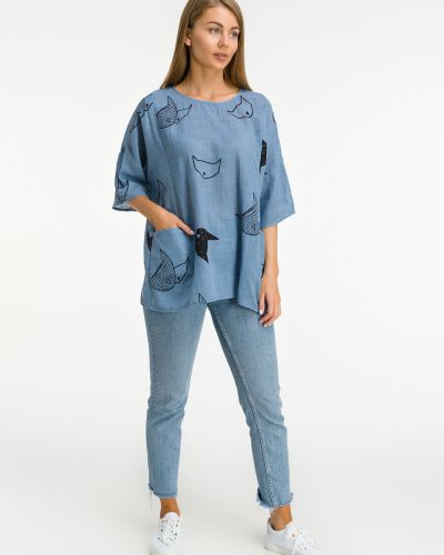 Блузка с принтом Modalime