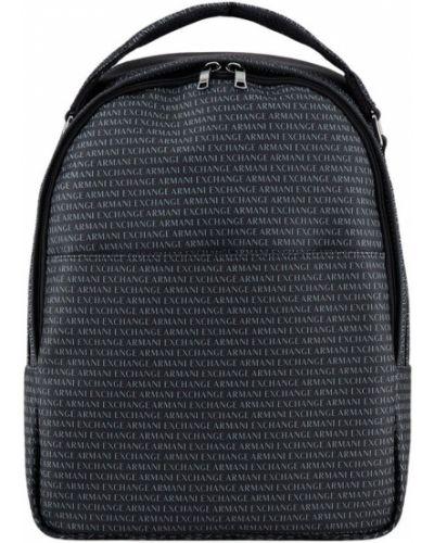 Plecak sportowy - czarny Armani Exchange