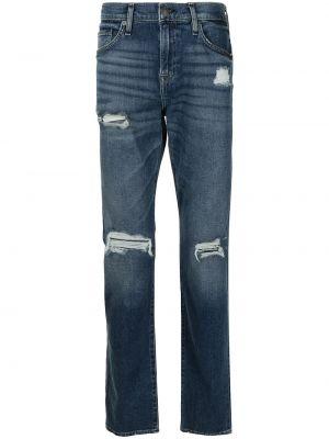 Mom jeans bawełniane - niebieskie True Religion