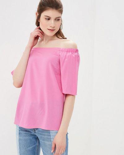Розовая блузка с открытыми плечами Befree