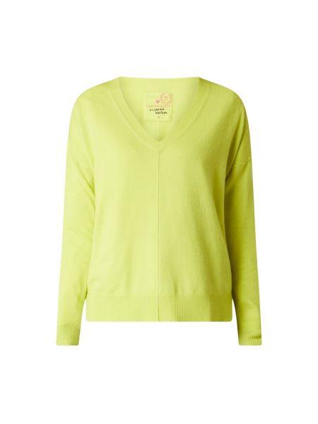 Sweter wełniany - żółty Lieblingsstück
