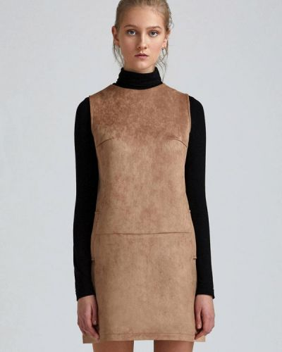 Платье мини - бежевое Minimally