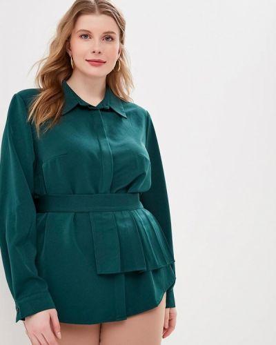 Блузка - зеленая Tutto Bene Plus
