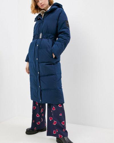 Утепленная куртка - синяя Tara Jarmon