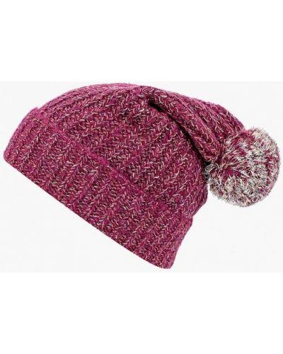 Фиолетовая шапка осенняя United Colors Of Benetton