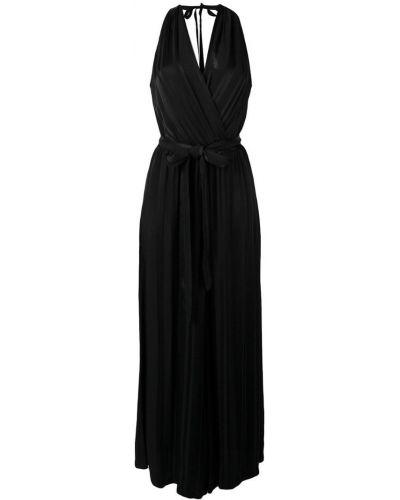 Платье с поясом с открытой спиной с декольте Raquel Allegra