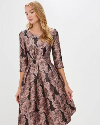 Вечернее платье осеннее розовое Madam T