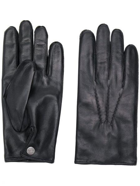 Кожаные перчатки с шелковой подкладкой N.peal