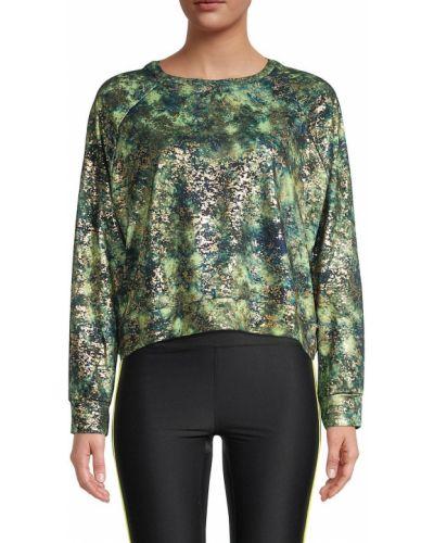 Зеленая пуловер Terez