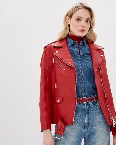 Кожаная куртка весенняя Karl Lagerfeld