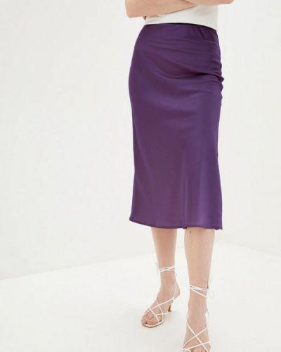 Фиолетовая юбка карандаш Magnet