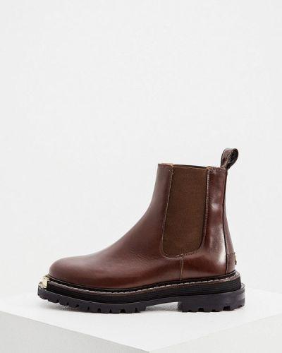 Коричневые весенние ботинки Sandro