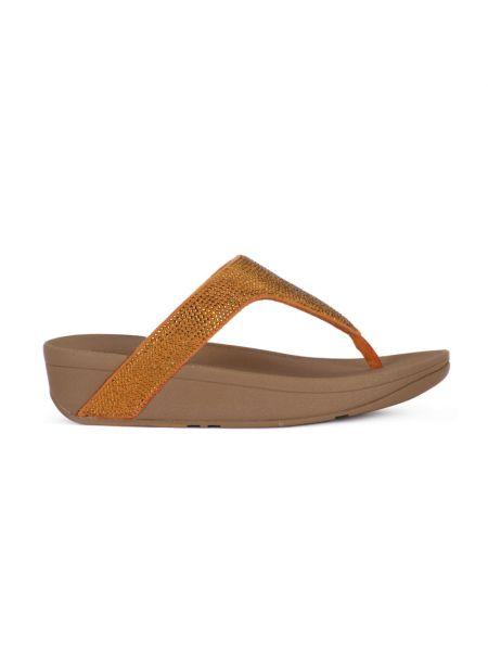 Pomarańczowe sandały Fitflop