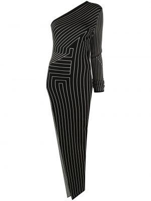 Sukienka długa z długimi rękawami - biała Rick Owens