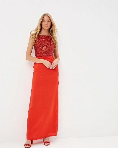 Платье весеннее красный Tutto Bene