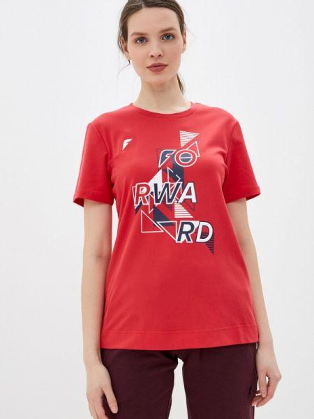 Красное футбольное поло Forward
