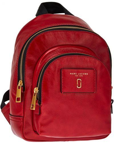 Кожаный рюкзак спортивный на молнии The Marc Jacobs