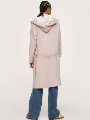 Пальто с капюшоном Mango