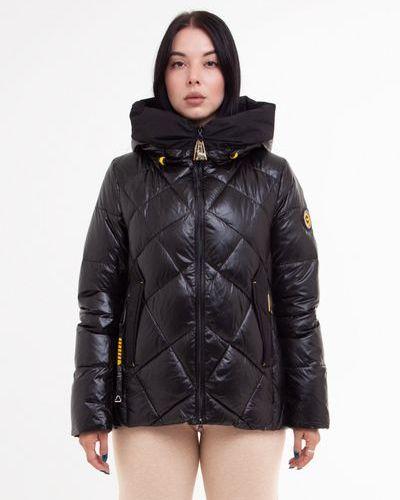 Стеганая куртка - черная Visdeer