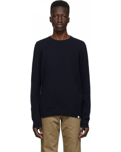 Sweter wełniany - biały Norse Projects