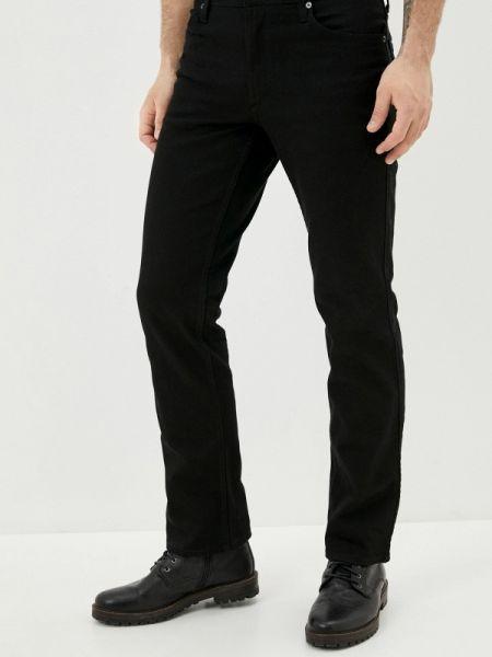 Черные прямые джинсы с жемчугом Mustang