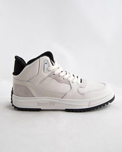 Бежевые зимние ботинки Prima D'arte