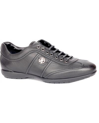 Черные кроссовки Roberto Cavalli