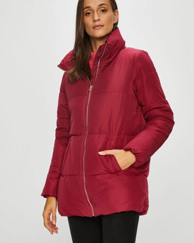 Утепленная куртка на резинке прямая Jacqueline De Yong
