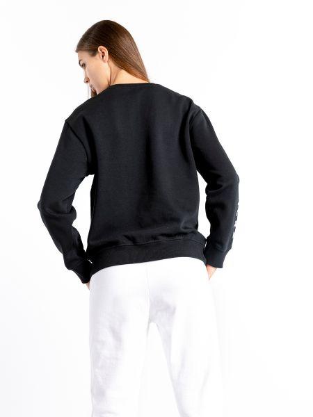 Черное худи Skechers