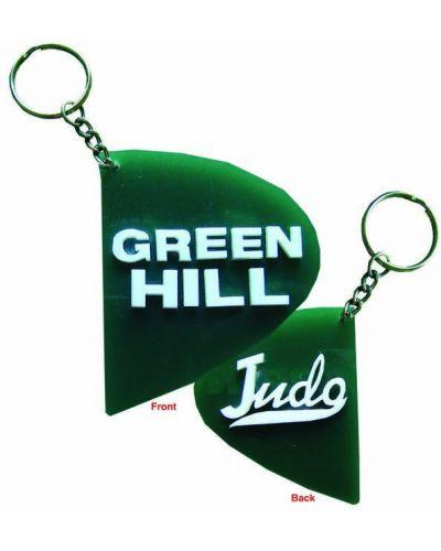 Брелок зеленый Green Hill