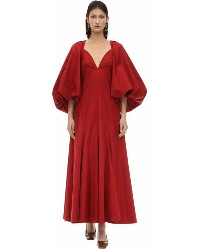 Платье с открытой спиной на пуговицах Khaite