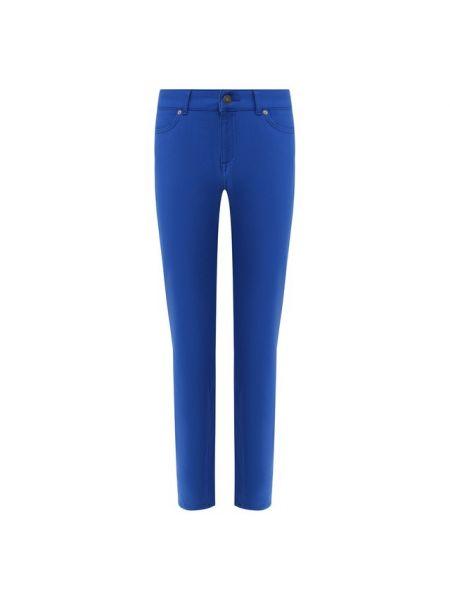 Укороченные джинсы спортивные синие Escada Sport