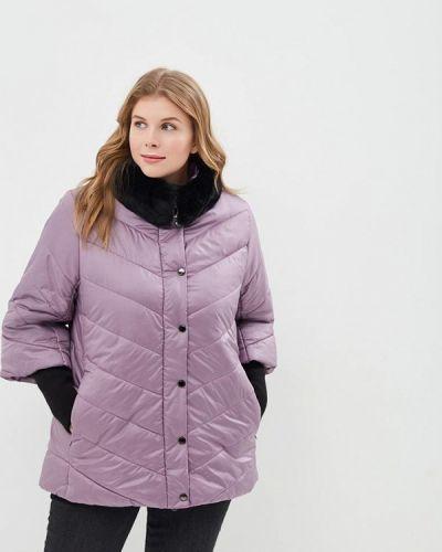 Утепленная куртка - фиолетовая Rosso-style
