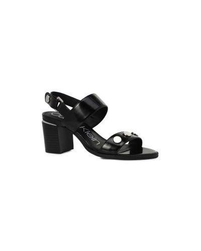 Босоножки черные Calvin Klein